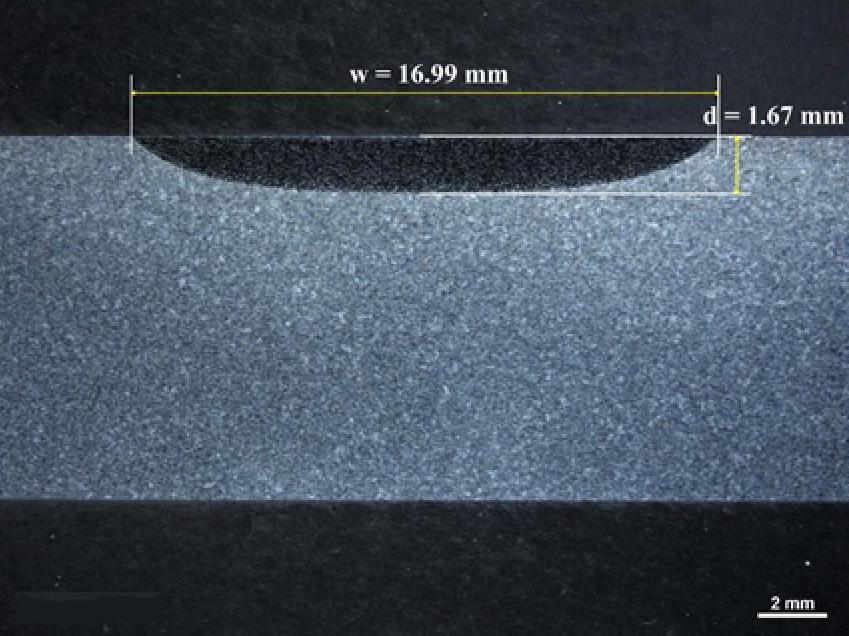 Laser Heat Treated SAE D6150 Cast Steel
